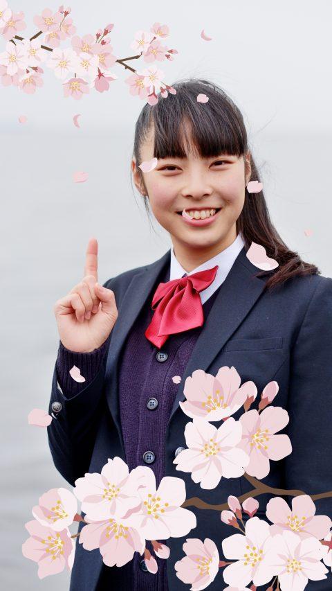 桜フォトフレーム結果1